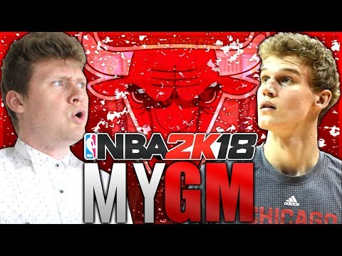 CAN WE RESTORE THE BULLS DYNASTY!? NBA 2K18 CHICAGO BULLS MyGM #1
