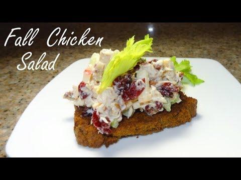 Pecan Cranberry Chicken Salad - Easy Cranberry Chicken Salad