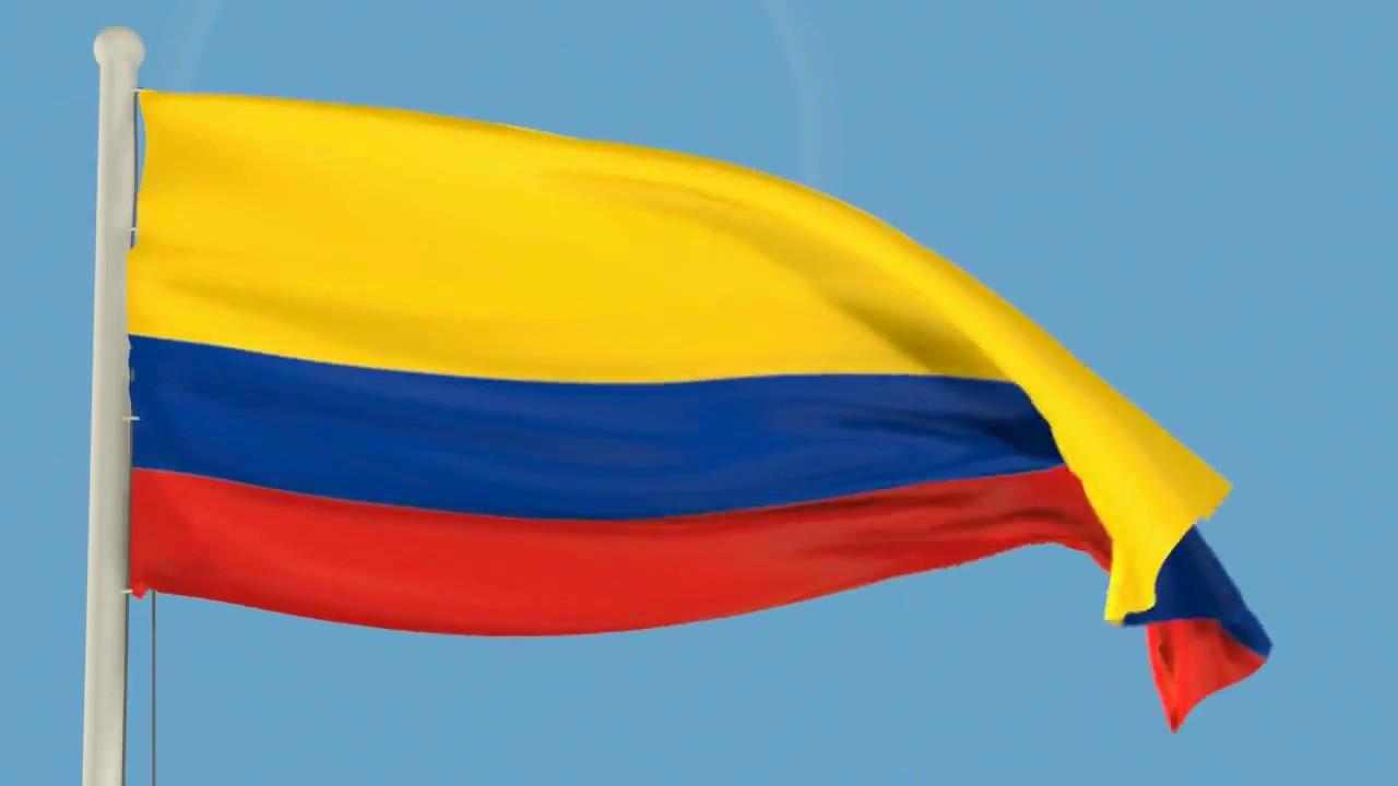Bandera Colombia Video