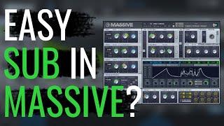 Quick and Easy Sub Bass in NI Massive