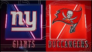 Madden 20 Simulation - New York Giants vs Tampa Bay Buccaneers - Simulation Nation