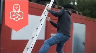 Unfälle mit Leitern – RiskBuster Stuntman Holger Schumacher