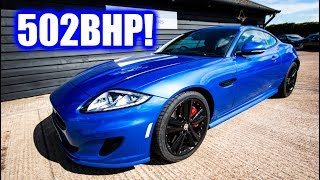 502BHP Forgotten British Muscle Car : Jaguar XKR 5.0L V8 Supercharged! Review