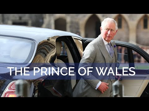 The Royal Wedding: The Prince of Wales arrives