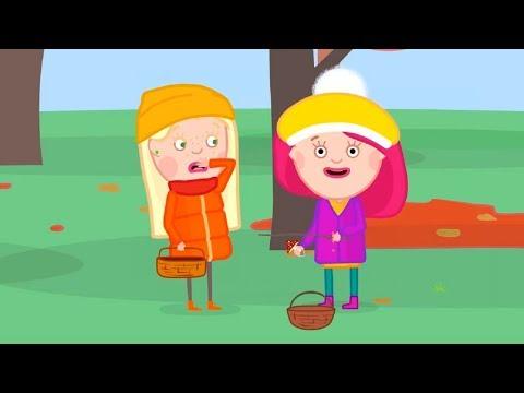 Мультики - Смарта и Чудо-сумка - Грибочки и мусор  - Развивающие мультфильмы