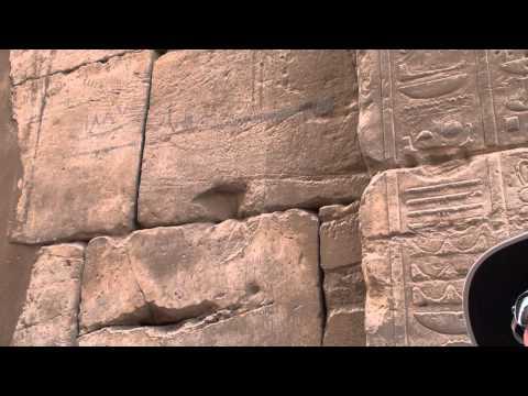 Egypt Video (Karnak Tour) Part 1.wmv