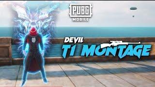DEVIL T1 MONTAGE ⚡PUBG MONTAGE || FOUR FINGER CLAW+ GYRO || KING SNIPER