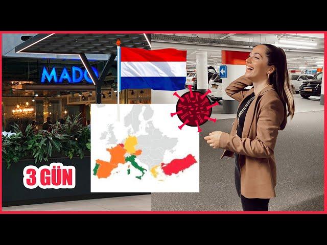 CORONA UPDATE VLOG! HOLLANDA TÜRKIYE'YE GITME YASAGI KOYDU!