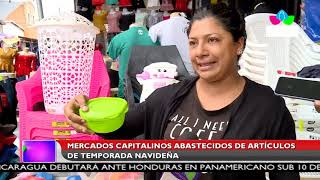 Multinoticias | Mercados capitalinos abastecidos de artículos de temporada navideña