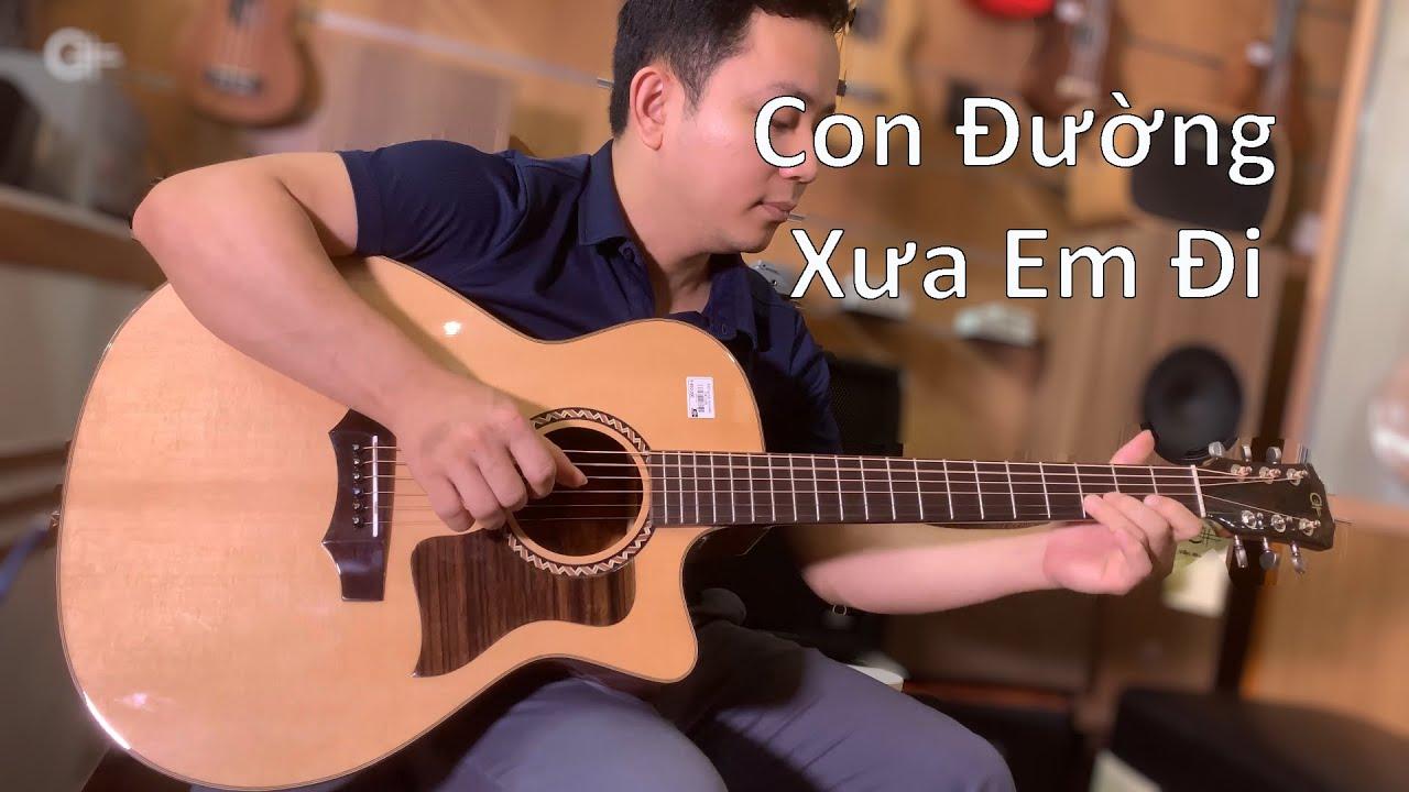 Con Đường Xưa Em Đi (Solo guitar) Gửi Thầy thuốc ưu tú Đồng Xuân Sắc (Bệnh viện Tỉnh Bắc Giang)