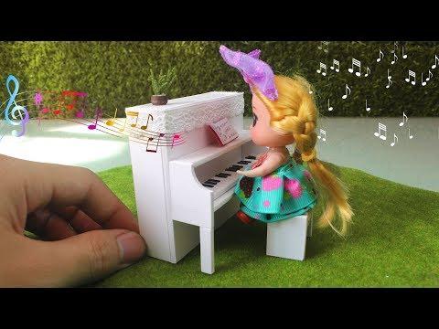 DIY Miniature A Piano for Dollhouse