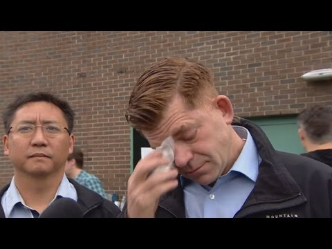 Brian Jean's emotional return home to Fort McMurray