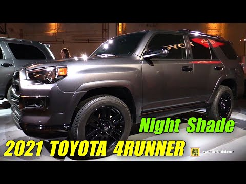 2021 Toyota 4Runner Night Shade – Exterior Interior Walkaround – 2020 Chicago Auto Show