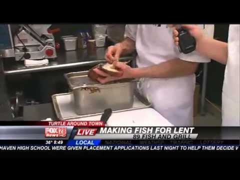 FRIDAY: Chef John Beck from 89 Fish & Grill