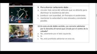 Spanish driving test in Urdu.carnet de conducir permiso B  part 1