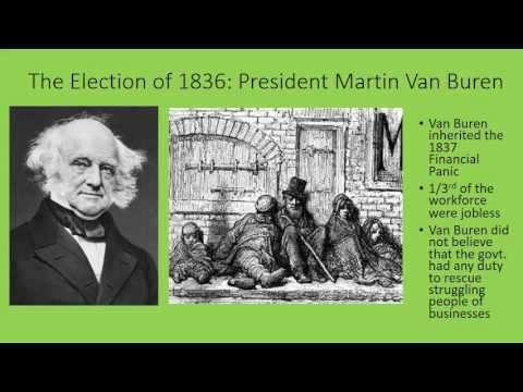 Part 10 - Martin Van Buren and the New Party System