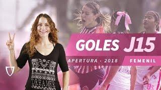 Todos los Goles Liga MX FEMENIL JORNADA 15 2018 - GOLAZO SOFIA ALVAREZ