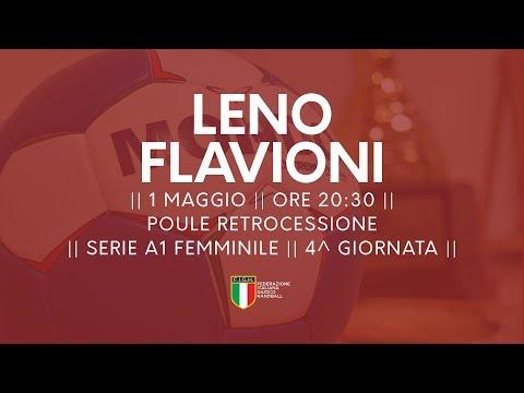 Serie A1F [4^ Poule Retrocessione]: Leno - Flavioni 40-20