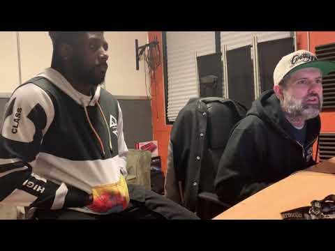 King Speech vlog: Gratata (Skitzo) mixing session w/ Tef Wesley