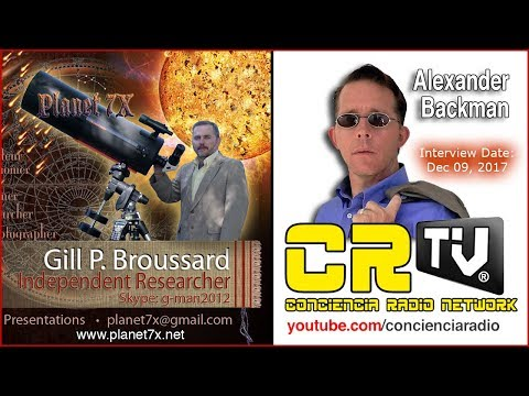 🌎CR TV News Interview GILL BROUSSARD PLANET 7X Dec 09, 2017