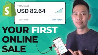 How To Get Your FIRST Shopify Sale Today (2021 Beginner Tips)