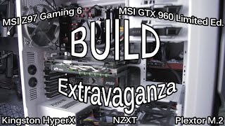 Msi Z97a Gaming 6 Usb3.1c Quickie Build - Gtx960, Plextor M.2, Hyperx Ram, Nzxt