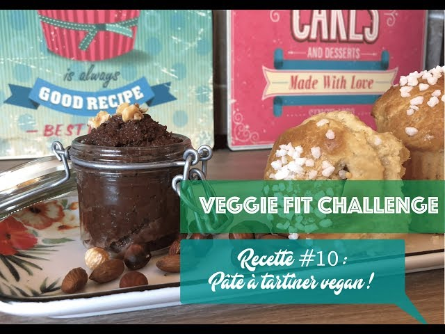 RECETTE #10 : pâte à tartiner 🍫 vegan & sans gluten