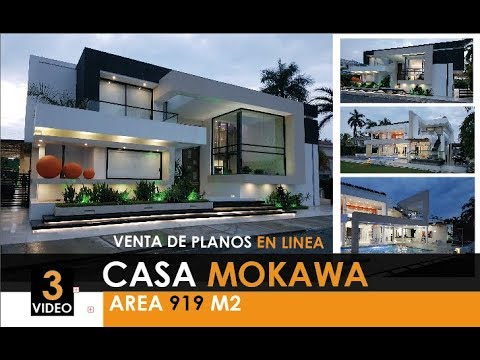 Casa de campo moderna de lujo mokawa youtube for Casa moderna en el campo