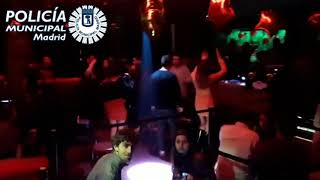 La Policía de Madrid interviene una discoteca con 133 personas dentro bailando