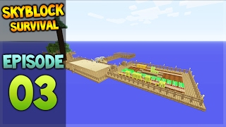 Minecraft Xbox - Skyblock Survival - Island Extension Episode 3