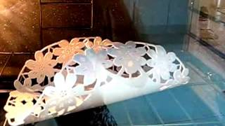 Como transformar tubo de PVC em Chapa