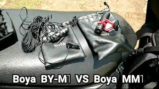 Review And TEST MIC BOYA BY-M1 VERSUS BOYA BY-MM1 #R&T - Alan Albana