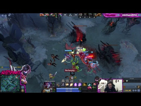 Dota 2 - TA Spam then Horror Games after (Sub Button on Twitch!) https://www.twitch.tv/blitzspanks