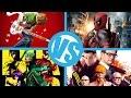 Scott Pilgrim VS Kick-Ass VS Kingsman VS Deadpool : Movie Feuds Comic Bracket ep12