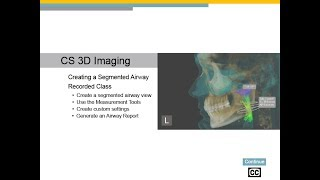 CS 3D Imaging: Creating a Segmented Airway Recorded Class