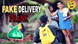 "FAKE DELIVERY | RELIEF GOODS | ""PUBLIC"" (PRANK)"