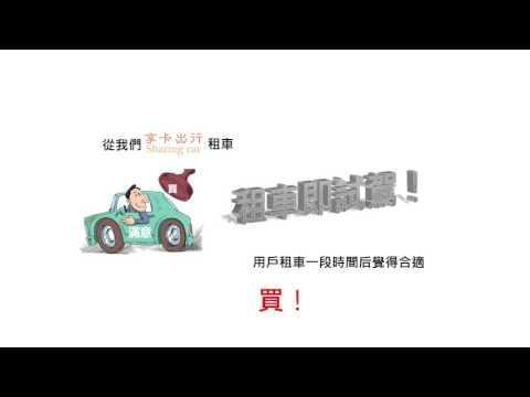 享卡出行 P2P Sharing Car 汽機車租借與中古車試駕媒合平台