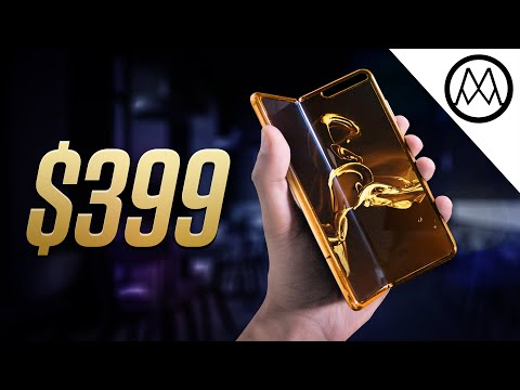 Unboxing the $399 Foldable Phone.