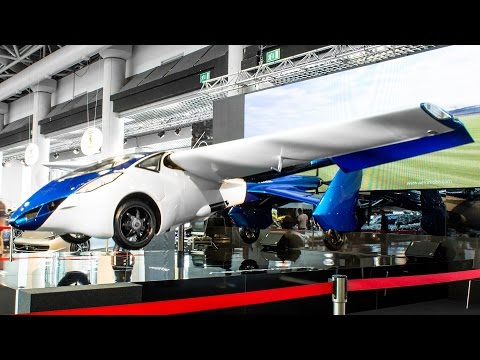AEROMOBIL 3.0 FLYING CAR - MONACO TOP MARQUES 2015 HQ