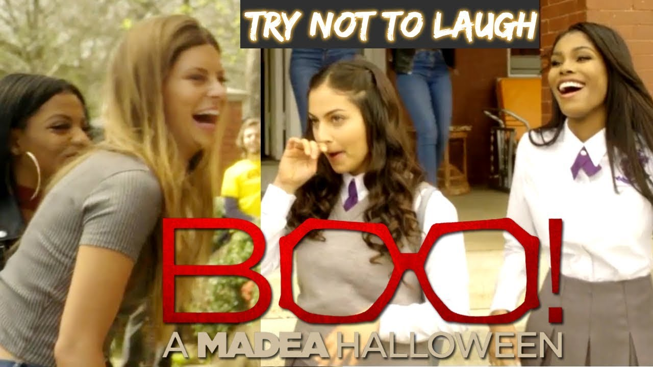 Download Boo 2! Bloopers and Gag Reel | Try Not To Laugh w/ Tyler Perry & Inanna Sarkis