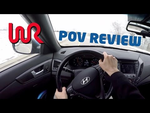 2016 Hyundai Veloster Turbo Rally Edition WR TV POV Review