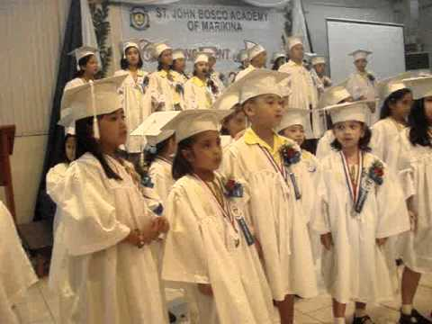 St John Bosco Academy of Marikina's  Graduation Day 2011