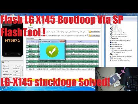 Tutorial Flash LG X145 via SP FlashTool