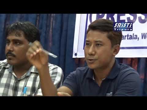 SRISTI TRIPURA LIVE NEWS 19 11 2017 HD VIDEO