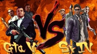 GTA V VS Saints Row IV