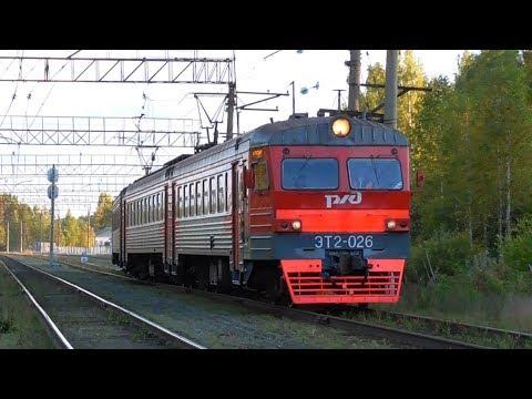 ЭТ2-026 сообщением Егоршино - Нижний Тагил на станции Разъезд 132 км