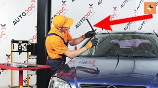 Come sostituire Spazzola tergi OPEL ASTRA G Hatchback (F48_, F08_) - tutorial
