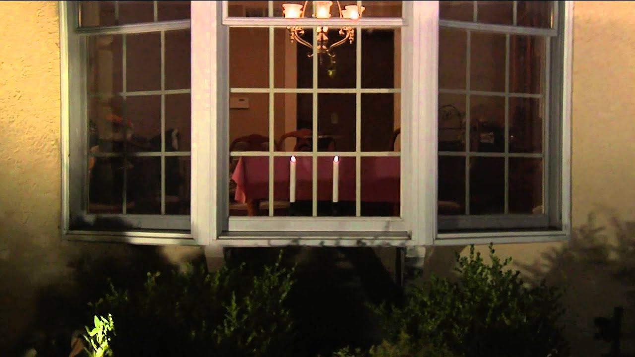 Battery operated window candles with timer - Set Of 2 Luminara 8 Flameless Window Candles With Timers With Jill Bauer Youtube