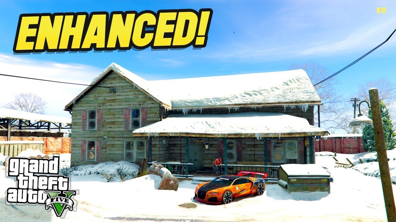 GTA 5 NORTH YANKTON MAP ENHANCEMENT GTA 5 Mods YouTube