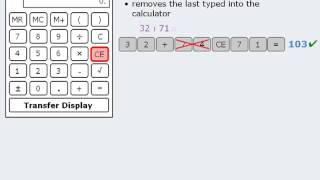 2. GRE Lesson: How to use the GRE onscreen calculator